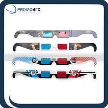cheap paper 3d glasses.custom logo paper 3d glasses