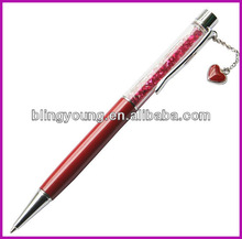 New design crystal pendant pen BY-3102
