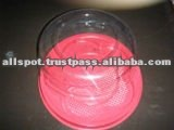 Round Cake Tray, Disposable Plastic Food Tray, Disposable Cake Tray