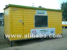 Prefabricated FRP/ GRP Portable Office Cabin