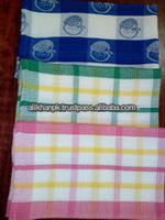Yarn dyed Waffle Tea towel