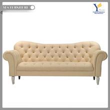High quality 2 seater chesterfield lobby sofa