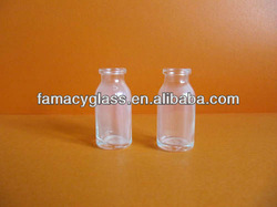vulcanized tubular vials