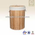 2013 cor natural de bambu cesta da lavanderia/dobrável cesto de roupa suja/dobrável cesto de roupa suja