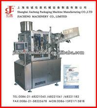 CE wide application automatic aluminum plastic tube piston filling sealing machine