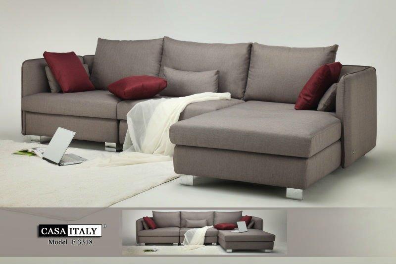 Sofa F 3318 - Buy L Shape Sofa,Italy Leather Sofa,Italian Design Sofa ...
