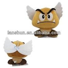 "Super Mario Brothers Bros Soft Plush Toy -Goomba Wing Angel 16cm/6.3"""