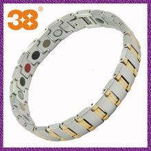 Stainless Steel Magnetic Bracelets Healing