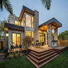 luxury steel frame sea-view prefabricated hotel house