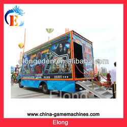 Hot !!! 5D cinema manufacturers,mobile 5d cinema truck