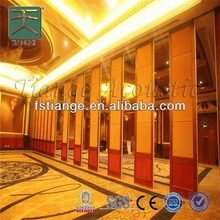 Soundproof Movable Partition,sliding doors interior room divider,Acoustic Folding Wall