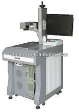 Low price Fiber plastic 10w IC/ integrated circuits laser marking machine