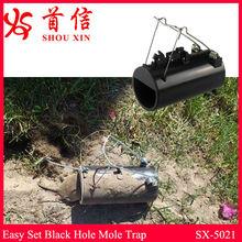New Design Black Hole Gopher Trap SX-5021