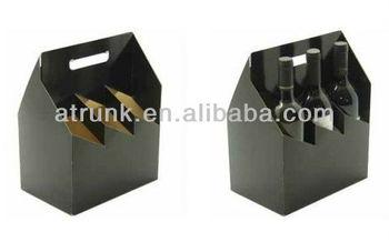 4 pack wine bottle carrier