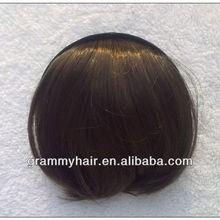Grammy High quality Fringes Human Hair Clip Hair Bangs