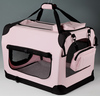 Fabric pet carrier folding dog carrier