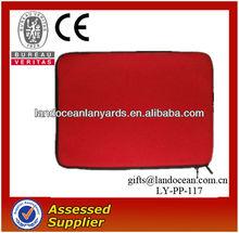 Plain Red Neoprene PAD/Tablet PC Sleeve