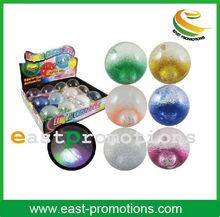 Small Crystal Flashing Bouncy Balls rubber bouncy balls