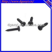 pan head phillips cross recessed self tapping screws