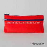 Cute cheap school zippered pencil pouch