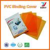 PVC cover plastic sheet PVC book binding cover plastic binding cover