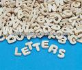 madeira inglês carta coração cinco multilateral angular manual diy letras processo de corte a laser letras podem ser personalizados
