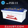 best price dry battery N180 12V180Ah for truck