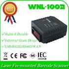 long distance range WNL-1002 LR 1D Laser Stationary Fix-mounted QR bar code Barcode Reader Scanner USB+Auto Trigger Scan