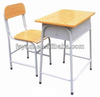 Commercial cheap price wooden student study desk YA-071