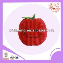 plush corduroy material apple pet toys