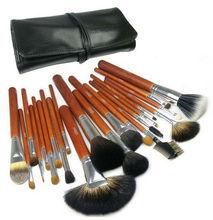 22pcs PRO walnut makeup brush set on sale now