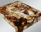 2013 new products animal printing blanket 100% polyester