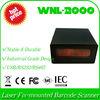 tech specs of WNL-2000 SR 1D Laser Stationary Fix-mounted QR bar code Barcode Reader Scanner USB Port+Auto Trigger Scan device