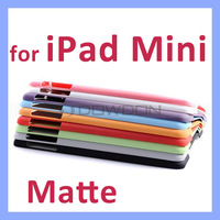 10 colors Matte Opaque Back Cover for iPad Mini Retina Case