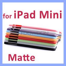 10 colors Matte Opaque Back Cover for iPad Mini Retina Case