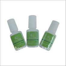 2014 nail art nail glue nail foil adhesive glue with small glue bottles