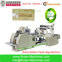 hot sale recyclable paper bags making machine