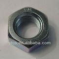 Pesado jam tuerca hexagonal para la estructura de acero de grado 8/10/12/c/d/5/8/2h con el color plano/negro/zinc/hdg