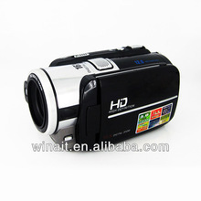 "Cheap 12 MP Video HD Digital Video Camcorder with 5MP COMS Sensor 3.0"" TFT Color LCD Display 2000mAh Li-ion Battery"