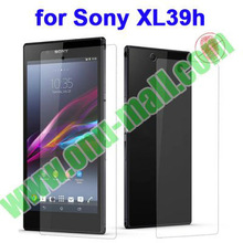(Front + Back) Top selling For Sony Xperia Z Ultra Clear Screen Protector For Sony XL39h