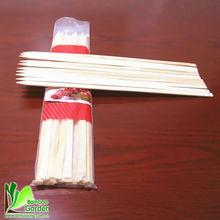 nature flat bamboo sticks for BBQ