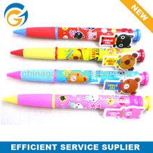 Cartoon Bear ,Cat,Dog Clip Ball Pen