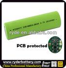 Flat Top IMR 18650 3100mah 3.7v Rechargeable Li-ion Battery