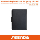 For Samsung Galaxy Tab3 10 inch Bluetooth Keyboard Folio Case