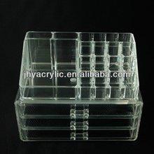 Buena calidad personalizado- hechos de acrílico esmalte de uñas opi de almacenamiento caso
