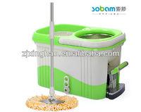 360 super easy spin magic floor cleaning mop/metal mop bucket wringer XH-016