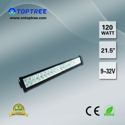 "high performance 21.5"" 120W led roof light bar,led offroad light bar tuning accessories for cars"
