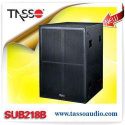 Neodymium woofer speaker box pro bass