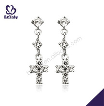 2013 wholesale latest fashion pictures of gold earrings wedding earrings