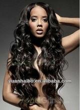 "Finest quality wholesale cheap price 20"" #1b virgin peruvian wavy u part lace front wigs100 human hair for black women"